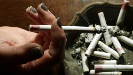 Kouření nedbalý