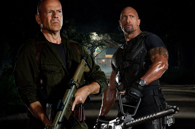 Bruce Willis ve filmu G.I. Joe.