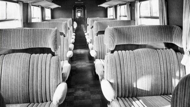 Takto vypadal interiér na konci 30. let minulého století.