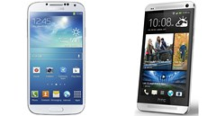 Samsung Galaxy S 4 a jeho rival HTC One