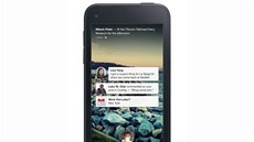 HTC First - Facebook Home: notifikace