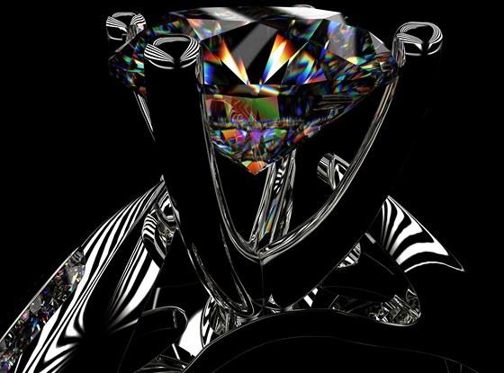 Snubni Prsteny Jinak Treba Se Vsazenym Kouskem Vzacneho Meteoritu