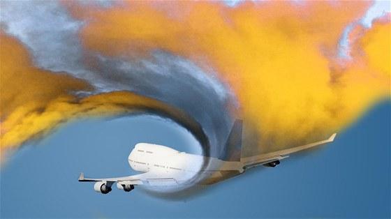 Síra rozprášená z letadel má odrážet sluneční paprsky a ochladit atmosféru.
