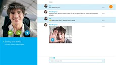 Služba Skype Video Messaging pro nové rozhraní Windows 8