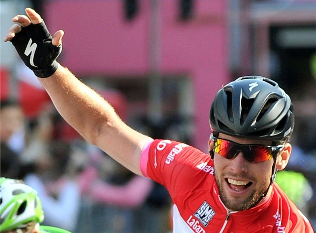 Mark Cavendish na Giru