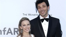 Kylie Minogue a Andres Velencoso (Cannes 2013)
