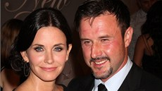 Courteney Coxová a David Arquette (2010)