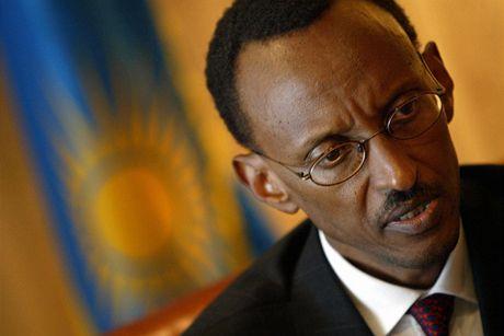 Rwandský prezident Paul Kagame