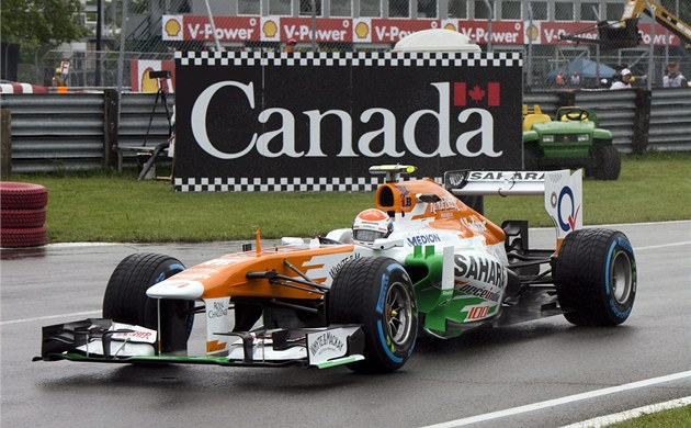 Paul di Resta s vozem Force India
