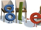 Google Doodle: Volby 2013