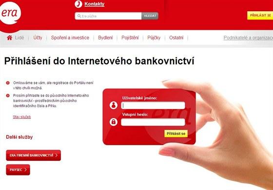 96adbcca2 Era: nové on-line bankovnictví nefunguje, klienti se však k účtům ...
