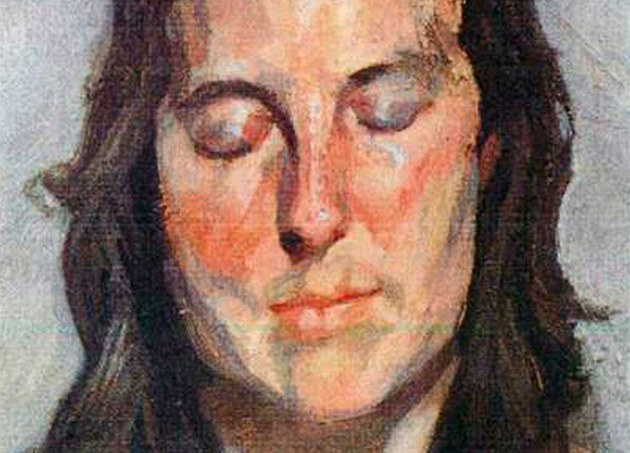"Lucian Freud: ""Woman with Eyes Closed"" (2002)"
