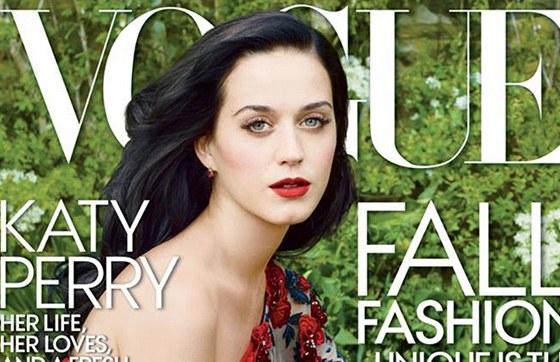 Katy Perry na obálce časopisu Vogue