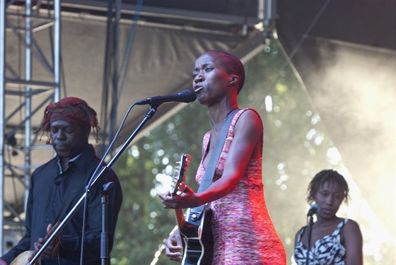 Rokia Traore (Colours of Ostrava 2013)