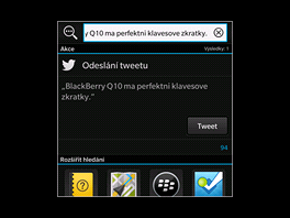 Displej BlackBerry Q10