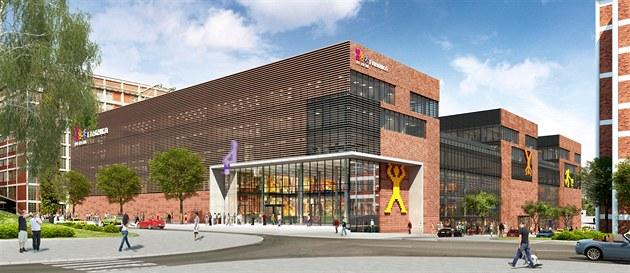 Centrum Fabrika se ve Zlíně začne stavět příští jaro, budou v něm i byty