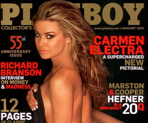 Carmen electra anální sex