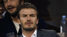 David Beckham na US Open (New York, 9. září 2013)