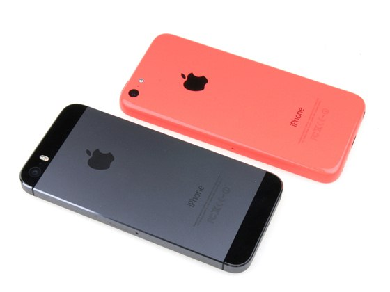 Apple iPhone 5s a 5c