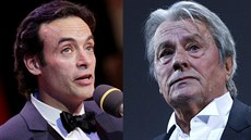Anthony Delon a jeho otec Alain Delon