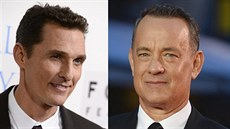 Matthew McConaughey a Tom Hanks