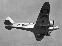 Ruský expres, tak byl přezdíván Airspeed AS.6 Envoy, který si ČSA pořídily ve...