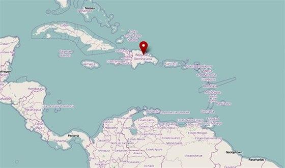 dominikanska republika mapa sveta Ostrov leguánů, skrytá perla Dominikánské republiky   iDNES.cz dominikanska republika mapa sveta