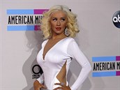 Christina Aguilera na American Music Awards v Los Angeles (24. listopadu 2013)