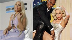 Lady Gaga na American Music Awards v Los Angeles (24. listopadu 2013)