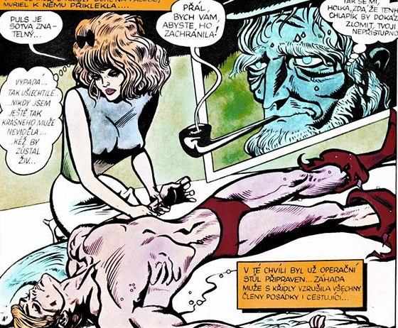 Zlý dom porno komiksy