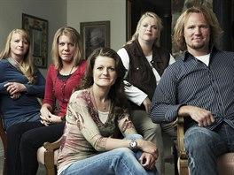 Kody Brown a jeho čtyři ženy: Christine, Meri, Robyn a Janelle