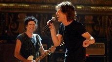 z filmu Shine A Light - Keith Richards a Mick Jagger