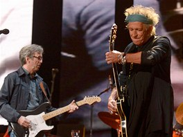 Crossroads Guitar Festival 2013 - Eric Clapton a Keith Richards