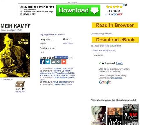 free download mein kampf