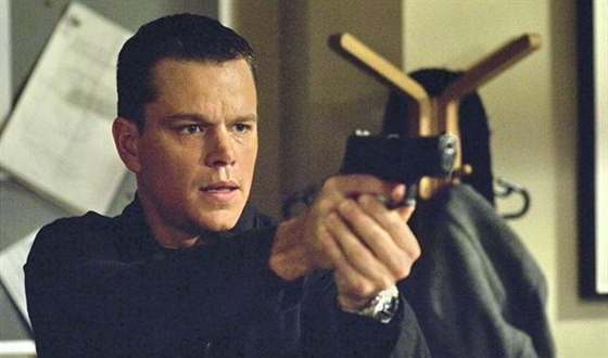 Matt Damon jako Jason Bourne ve filmu Bourneovo ultimátum