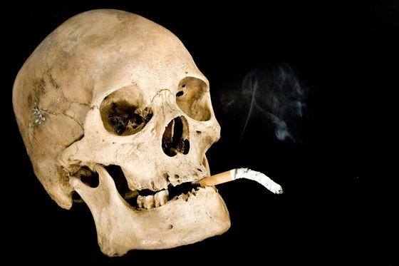 Různé techniky kouření