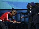 Producent Pharrell Williams se klaní Daft Punk a Nilesu Rogersovi poté co...
