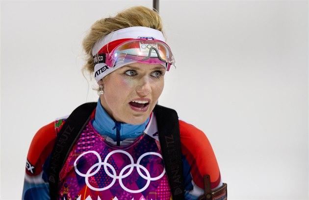 cf8625fe70f BOJOVNICE. Česká biatlonistka Gabriela Soukalová dojela ve stíhacím ...