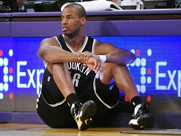 Jason Collins v dresu Brooklyn Nets