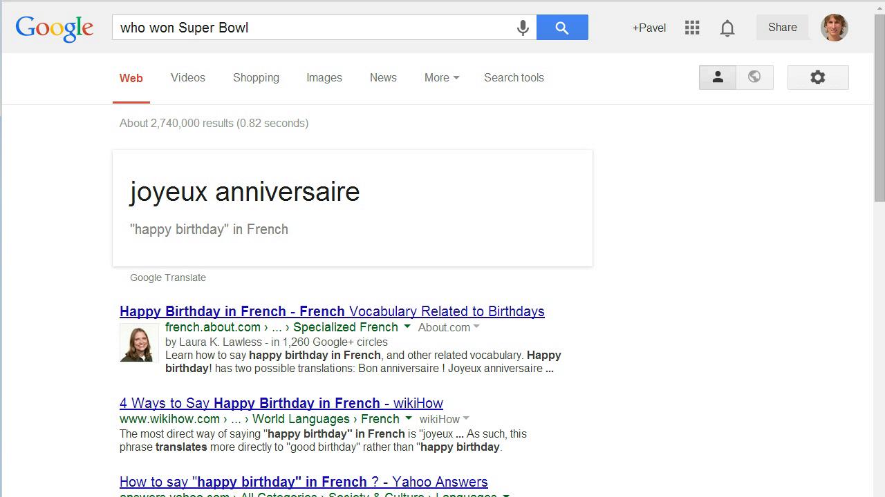 všechno nejlepší k narozeninám translate Fotogalerie: OK, Google, přelož