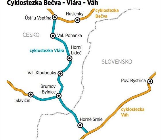 b4c4e462065 Trasa z Ústí u Vsetína do Horného Srnie zajistí propojení cyklostezek Bečva  a.