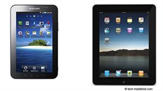Samsung Galaxy Tab a Apple iPad