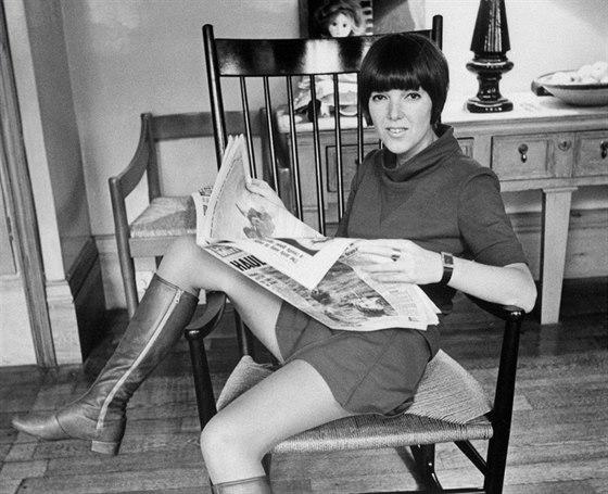 15e85b96be9 Matka minisukně Mary Quantová  do módy vnesla revoltu i zábavu ...