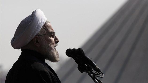 b96fae8e96b Íránský prezident Hasan Rúhání (11. 5. 2014)