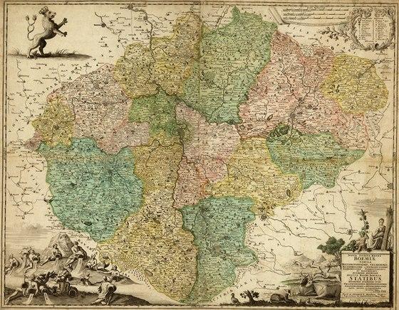 Tady Vsude Byli Lvi V Praze Probiha Ojedinela Vystava Starych Map
