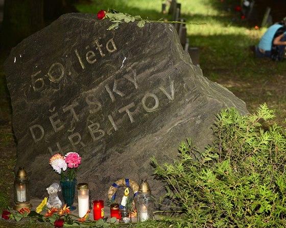 Výsledek obrázku pro dětský hřbitov komunismus