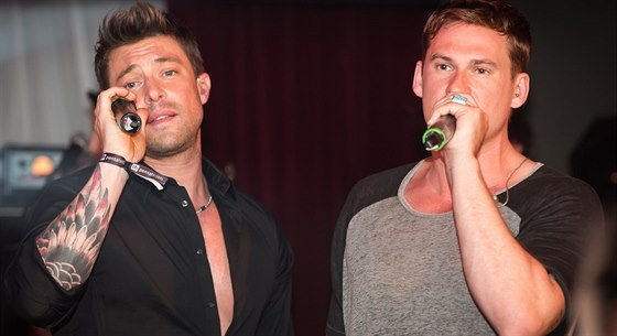 Duncan James a Lee Ryan