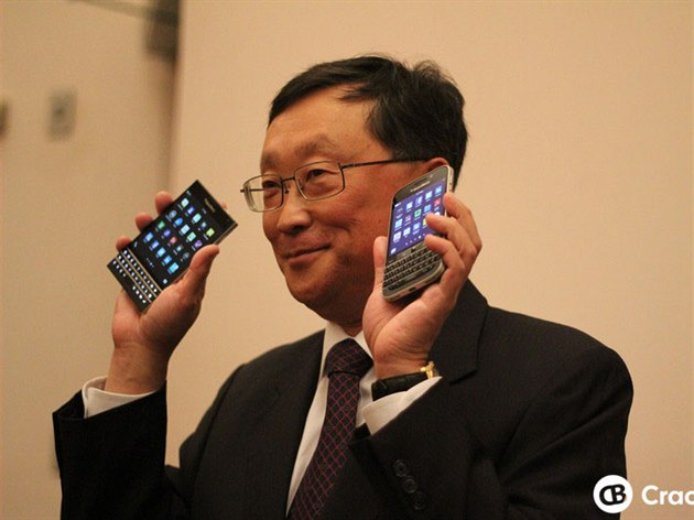 Šéf BlackBerry John Chen