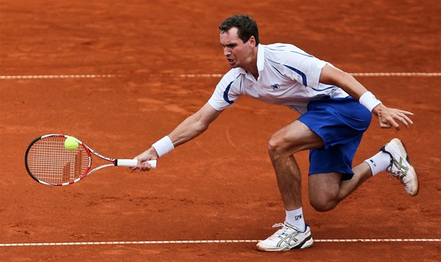 Jan Hernych na challengeru Prague Open