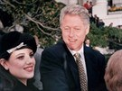Monica Lewinská a Bill Clinton (1996)